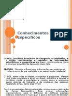 Conhecimentos Específicos - IBGE