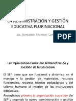 laadministracinygestineducativaplurinacional-120919082504-phpapp02