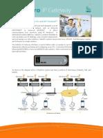 Radio Pro Ip Gateway Data Sheet