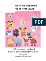 h3 classroom handbook 2016-17