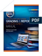 Grading and Reporting Procedures