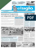 Edición Impresa El Siglo 24-08-2016
