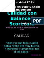 Calidad c BSC Supply Areq 1