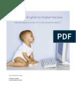 Teaching English to Digital Natives
