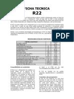 Ficha Tecnica R22