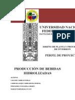 BEBIDAS-HIDROLIZADAS