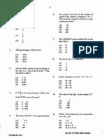 CSEC June 2013 Mathematics P1