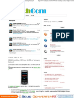 [ODIN] Installing 2.2 Froyo DDJP2 on Samsung Galaxy 3