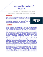 Anatomy and Properties of Bamboo