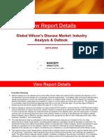 Global Wilson's Disease Market