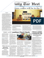 The Daily Tar Heel for Aug. 24, 2016