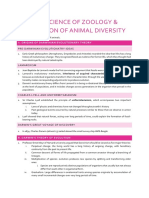 Animal Diversity Summary