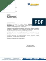 Carta de Presentacion IFIT