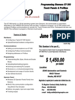 Siemens S7-300 Seminar