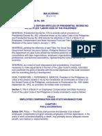 PD 626 Labor Compensation Law