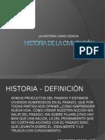 Historia Como Ciencia 1