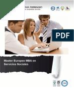 Master Europeo MBA en Servicios Sociales
