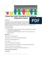 lesson 8 know your math standards and vertical alignment