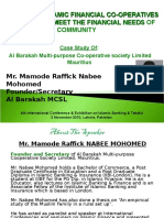 AlHuda CIBE - Islamic FInancial Co-Operatives by Mr. Raffick