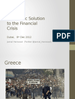 AlHuda CIBE - An Islamic Solutionto the Financial Crisis