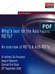 AlHuda CIBE - An Overview of REITs by Dr. Anthonoy