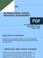 IHRM Presentation