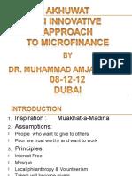 AlHuda CIBE - Akhuwat Innovative Approach