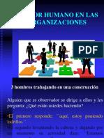Factor Humano en Las Organizaciones