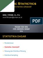 Basic Statistics - 2 - Descriptive Statistics-1