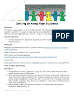 lesson 2 getting to know your students