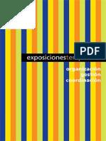 Organización, Gestión y Coordinación de Exposiciones