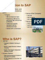 SAP Introduction