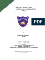 Internship Report(132kv Grid Substation Kamalabad, P&I IESCO)