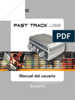 Interfase Audio USB 060508 FastTrack UG ES01