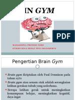 Ppt Brain Gym