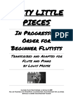 40 Little Pieces Flute Part Digitized