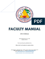 Faculty Manual Complete