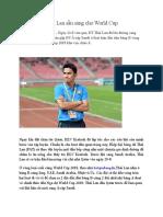 Thai Lan San Sang Cho World Cup