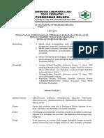 9. SK Pemantauan, Pemeliharaan, Perbaikan Sarana Dan Peralatan