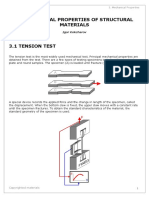 SIA 3 Mechanical Properties