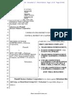 Deckers v. Rite Aid - Complaint