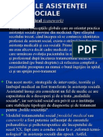 Modelul Medica Case Work)