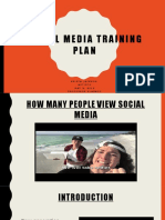 aet 570 social media training plan presentation