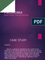 Pneumonia Case Presentation