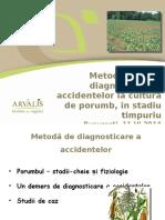ARVALIS_presentation_Diagnostic des accidents sur maïs_Bucarest_juin 2014.pptx
