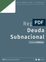2016 Reporte Deuda Subnacional Documento