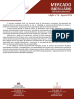 Informativo Imobiliário - Edição Agosto 2016
