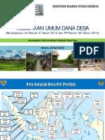 Sessi I - KemenKeu - Bahan Sosialiasi Dana Desa 28 April 2015.pdf
