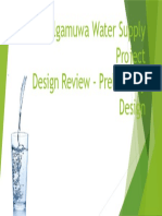 WWTP- Introduction to Preliminary Design