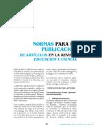 normaspublicacionrevistaeducienc2016